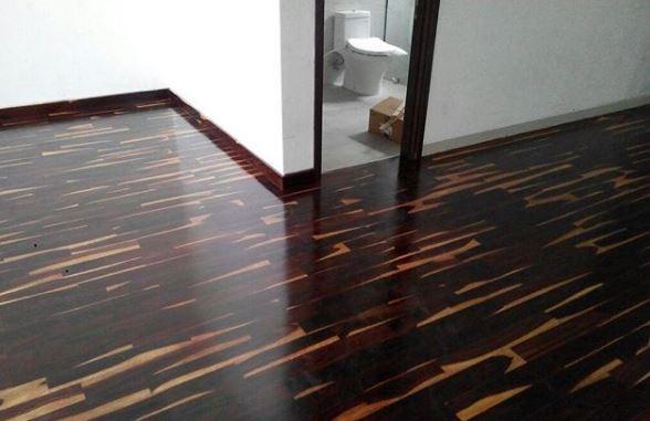 yogyakarta pemasangan lantai kayu sonokeling