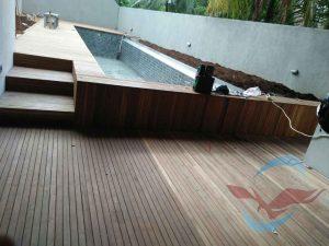 lantai kayu decking bengkirai polos