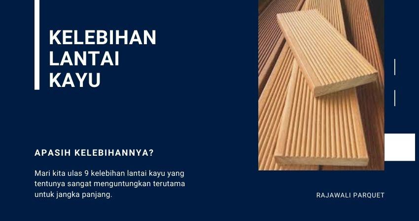 manfaat lantai kayu