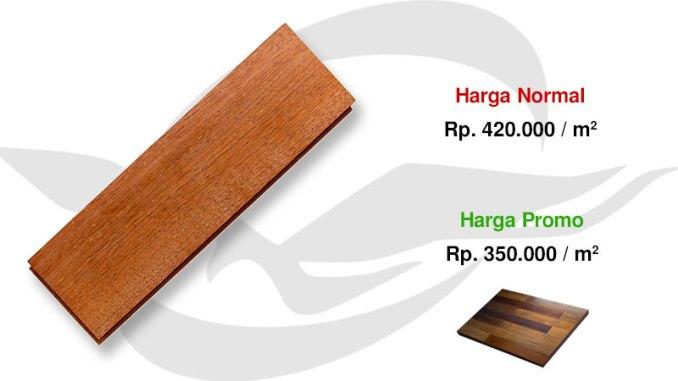 promo flooring kayu merbau