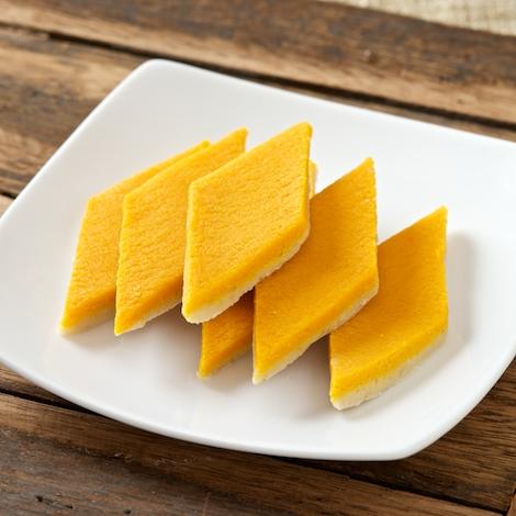 Mango Kaju Katli