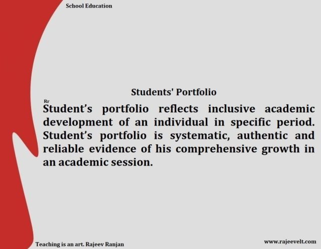 Student Portfolio Importance and Benefit for Learner Teacher and