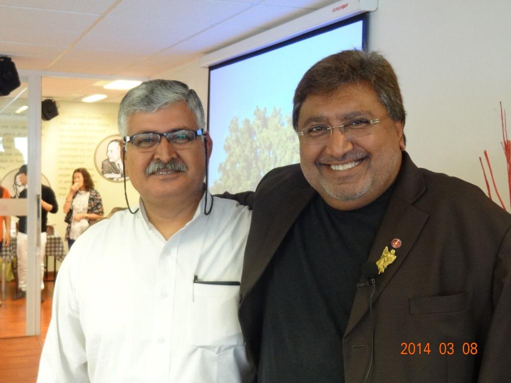 Dr Mel Gill & Rajiv Bajaj
