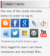 Social Log In