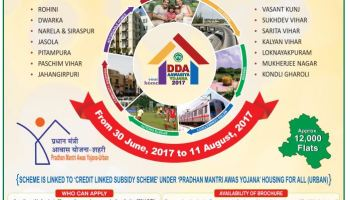 DDA Housing Scheme 2019 – 10,730 Flats on Offer, Check