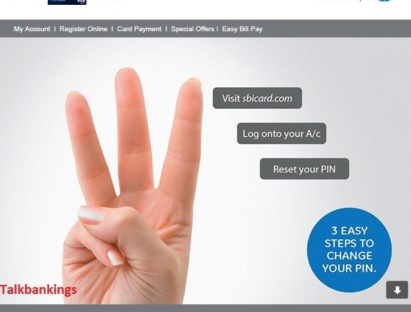 How To Reset SBI Cards PIN Online ?