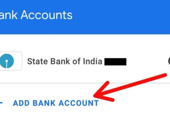 How To Add SBI Account on Google Pay ?
