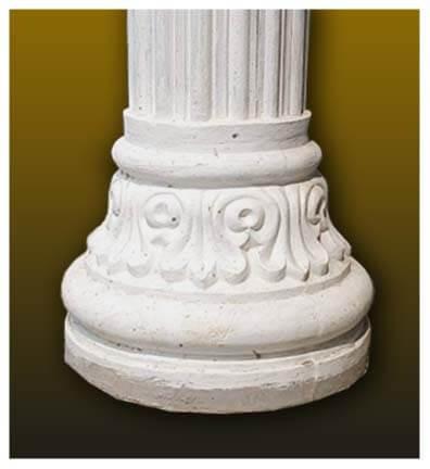 pillar bottom