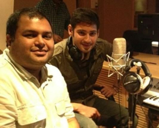 Maheshbabu singing for businessman stills