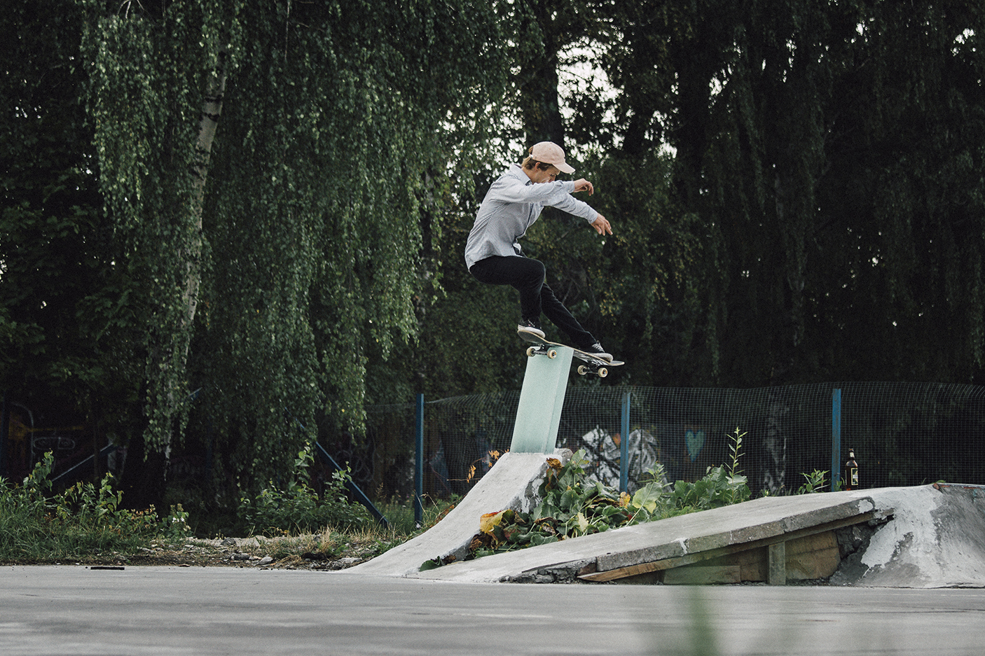 skater rock to fakie