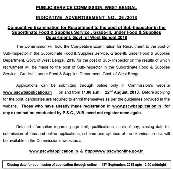 WP Police Recruitment