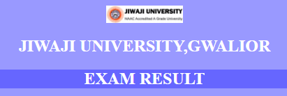 jiwaji university result 2018