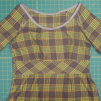 Dahlia Sewalong- My Plaid Dahlia Dress