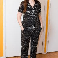 Skull Dot Carolyn Pajamas