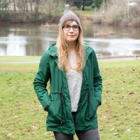 Forest Green Waterproof Kelly Anorak