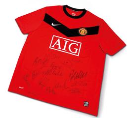 Win a signed Man Utd Shirt