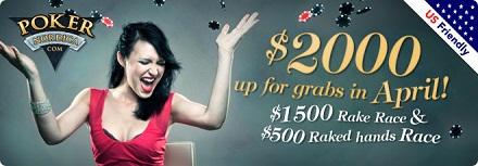 Poker Nordica $2,000 Races