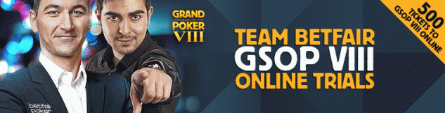 Team Betfair GSOP 8 Online Trials