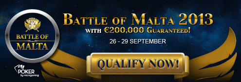 Betsson battle of Malta 2013