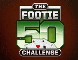 cake Poker Footie 50 Challenge