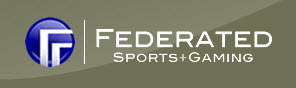 Federated Sports & Gaming Poker League Logo