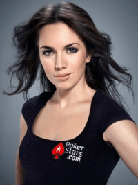 Pokerstars professional poker player Liv Boeree.