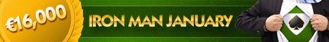 NoiQ Poker 16K January Iron Man
