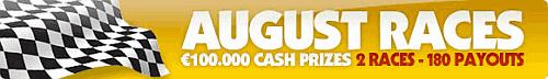 NoiQ Poker rakeraces, August 2009