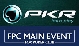 PKR Fox Poker Club Main Event Qualifiers