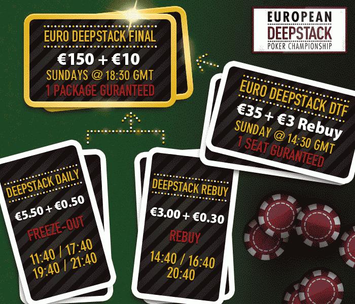 Poker Heaven European Deepstack Satellites