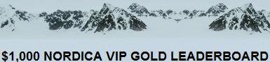 Poker Nordica $1K VIP Gold Leaderboard