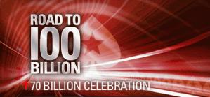 PokerStars 70 Billionth Hand Promotion
