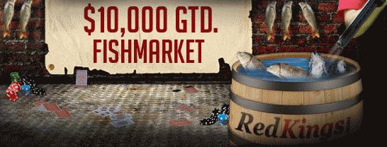 RedKings $10K Guaranteed FishMarket