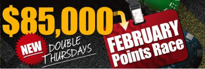 RedKings 85K February Points Race