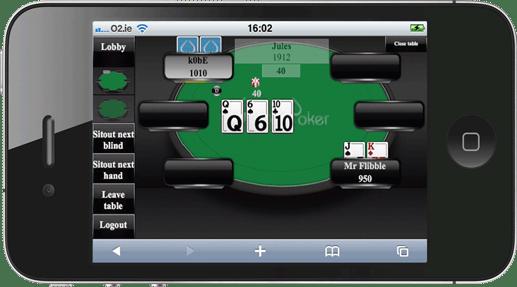 iPhone Poker