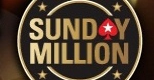 PokerStars Sunday Million tournament.