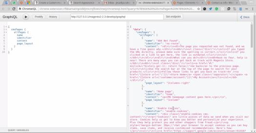 cms pages graphql