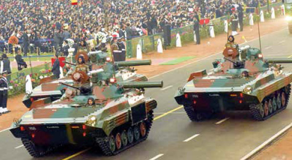 BMP-2 Infantry Combat Vehicle Sarath - Indian Army