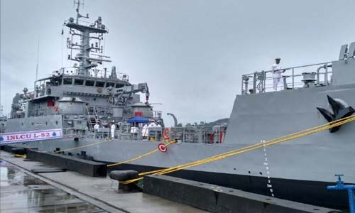 GRSE Delivers 6th Warship to Indian Navy in 16 Months
