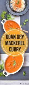 Goan Dry Mackerel Curry, Sukhya bandyache hooman