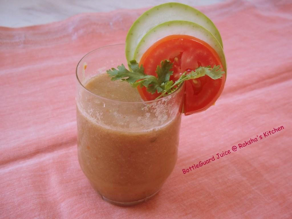 BottleGourd Juice – Specially for weight watchers