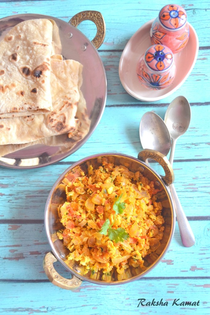Egg Bhurjee | Indian Style Scrambled Egg