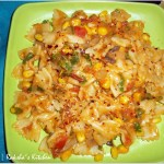 Tangy Spicy Farfalle Pasta
