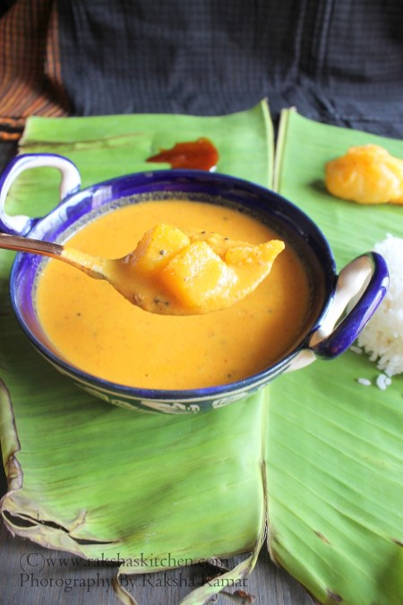 Amlechi Uddamethi | Goan raw mango curry
