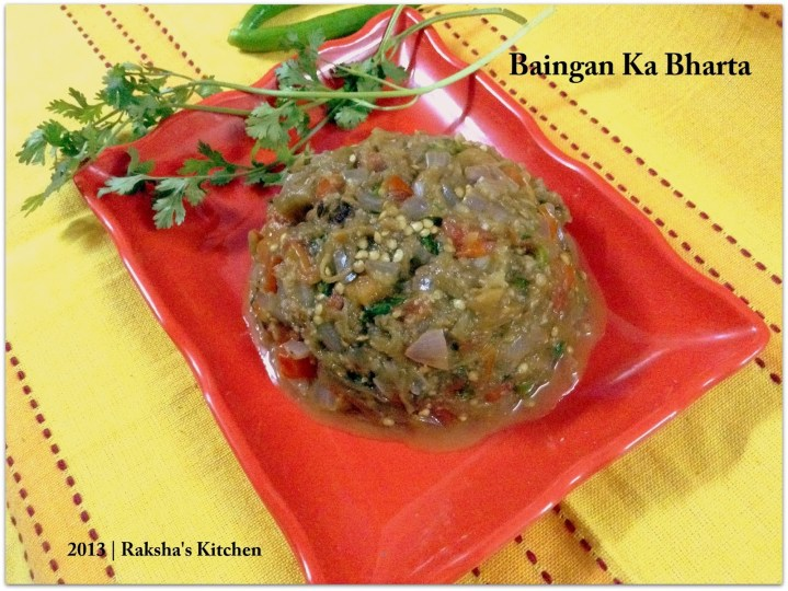 North Indian Style Baingan Ka Bharta