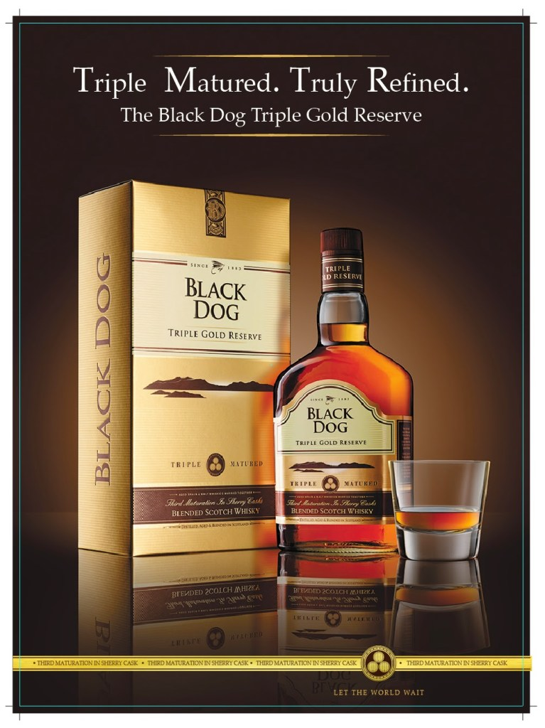 Black Dog TGR – The Finest Scotch In The World