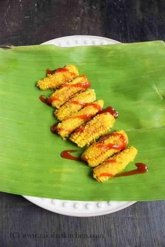 Rava Fried Baby Corn