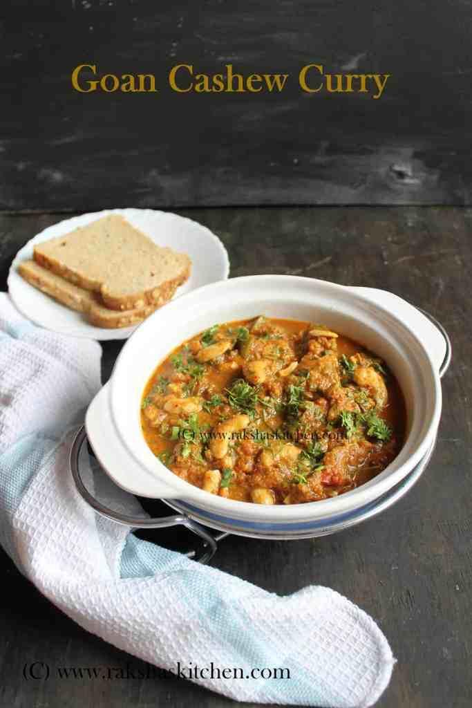 Goan cashew curry