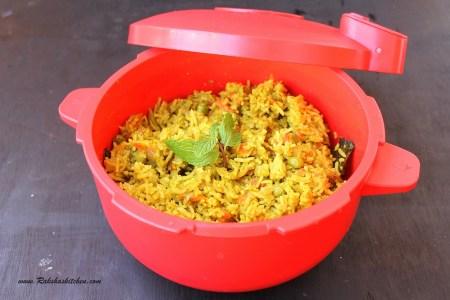 One Pot Mint Rice Recipe
