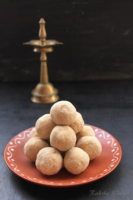 wheat flour ladoos